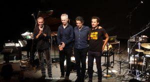 Bruno Angelini Michele Rabbia Quartet