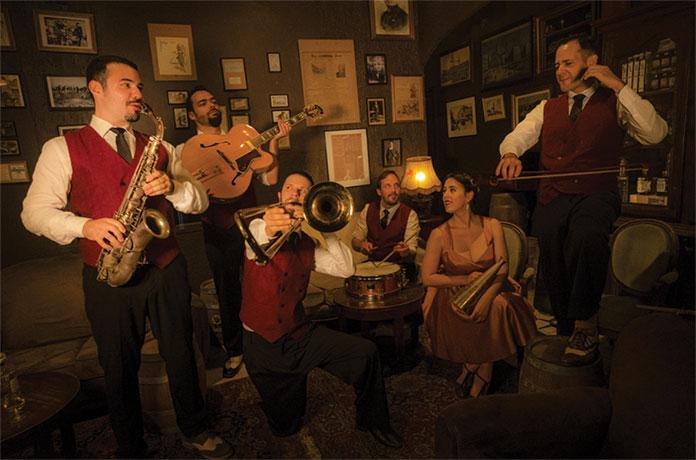 Live Jazz au Château