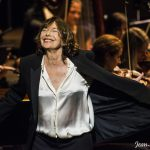 jane birkin en concert à l'opéra de Monaco