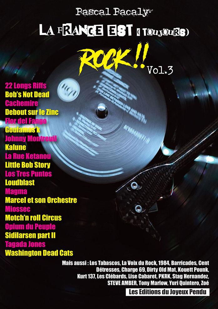 Livre Pascal Pacaly La France est toujours rock